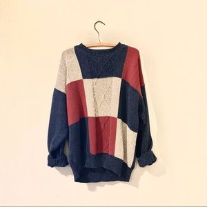 Vintage oversized sweater ugly